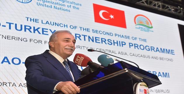 """Bakan Fakıbaba, """"Hedefimiz Türkiye'nin deneyimini bölgedeki ülkelerle paylaşmak"""""""