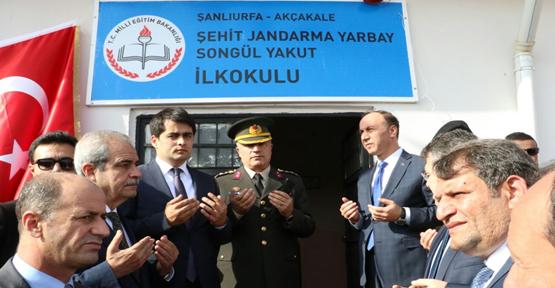 Okula  şehit Yarbay Songül Yakut'un ismi verildi.