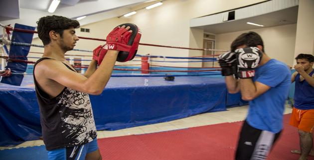 Şanlıurfalı Gençlerden Kick Boks'a Yoğun İlgi