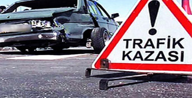 Urfa'da trafik kazası... .