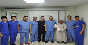 Urfa'da nadir görülen hastalıkta başarılı ameliyat