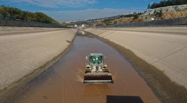 DSİ sulama kanalları temizleniyor