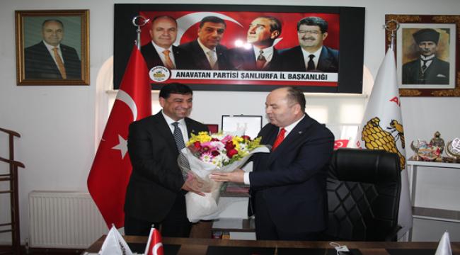 ANAP Genel Başkanı Çelebi Şanlıurfa'da