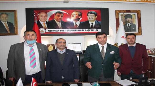 Başkan Aslan, 3 ilçenin başkanını belirledi