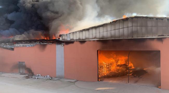 Harran Üniversitesi Osmanbey Kampüsünde yangın!