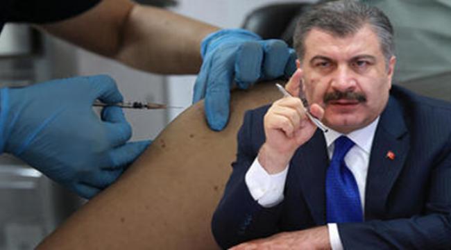 Sağlık Bakanı Koca: Yarından itibaren sağlık çalışanları aşılanmaya başlayacak