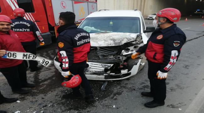 Şanlıurfa'da aynı köprüde yine kaza: 2 yaralı
