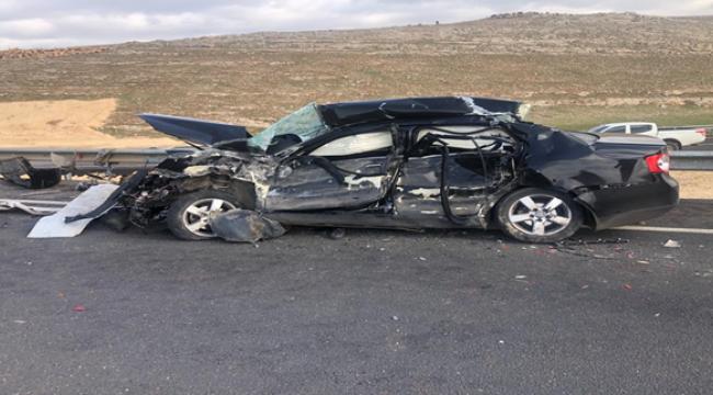 Şanlıurfa'da trafik kazası, 2 ölü