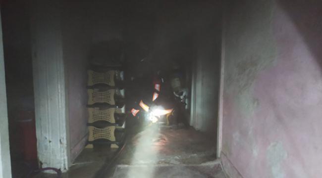 Urfa'da Elektrik kontağı yangın çıkardı
