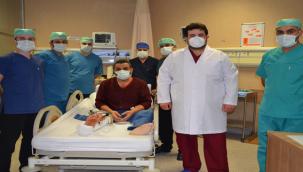 Urfa'da ilk defa damarlı kemik ve doku nakli yapıldı