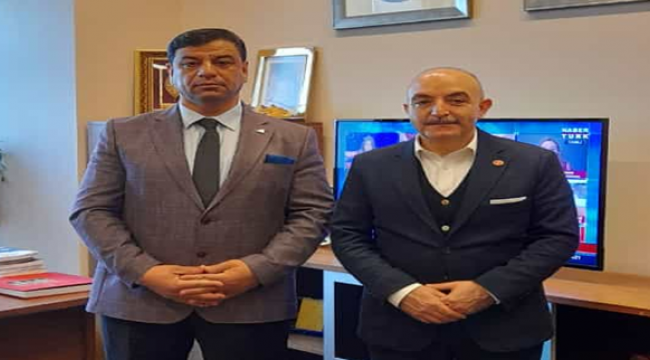 Başkan Aslan, Ankara temaslarına başladı
