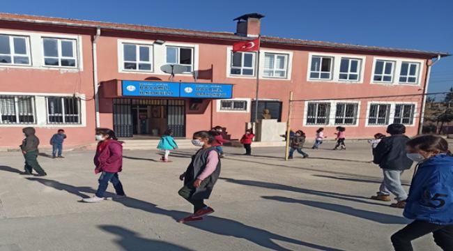 Köy Okulları Yüz Yüze Eğitime Hazır