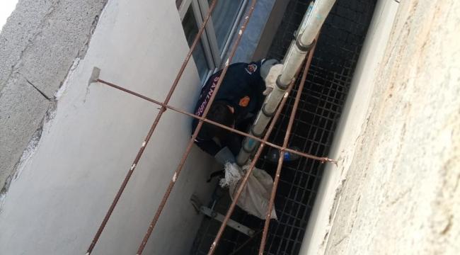 Urfa'da kedi kurtarma operasyonu