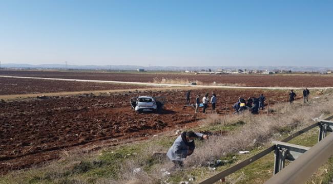 Urfa'da yasak gününde kaza, 5 yaralı
