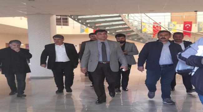 Anavatan Partisinden Şanlıurfaspor'a Ziyaret