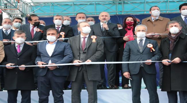 Çevik Kuvvet kavşağı  Bakan Karaismailoğlu tarafından açıldı