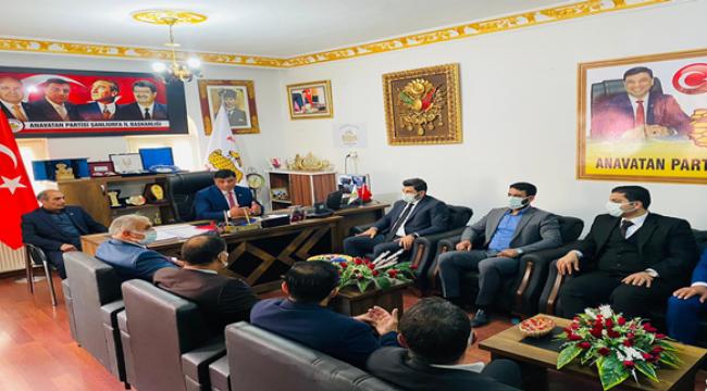 Başkan Eyyüpoğlu'ndan Başkan Aslan'a Ziyaret