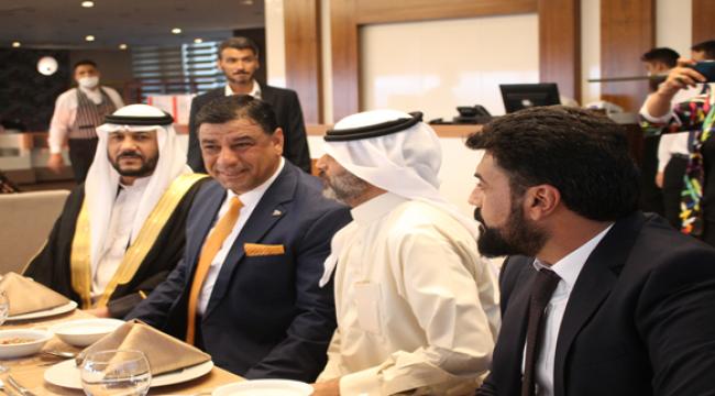Başkan Aslan, Katarlı ve Dubaili İş Adamlarıyla bir araya geldi