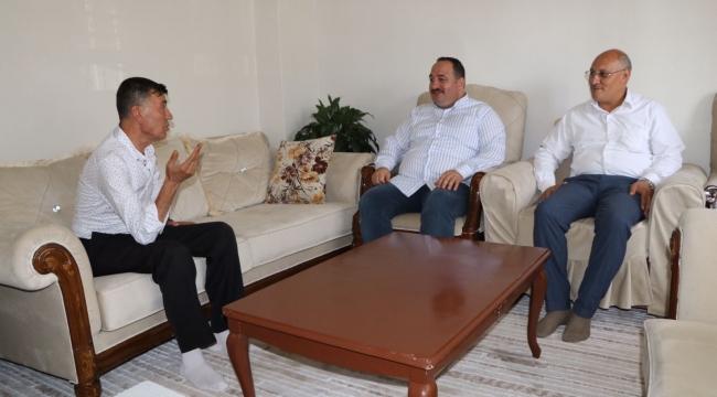Başkan Ekinci Şehit ve Gazi Aileleri ile Bayramlaştı