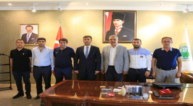 Başkan Kırıkçı'dan Siyasi Parti ve STK'lara ziyaret...