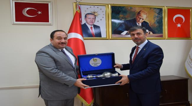 Başkan Kırıkçı'dan Viranşehir belediyesine ziyaret