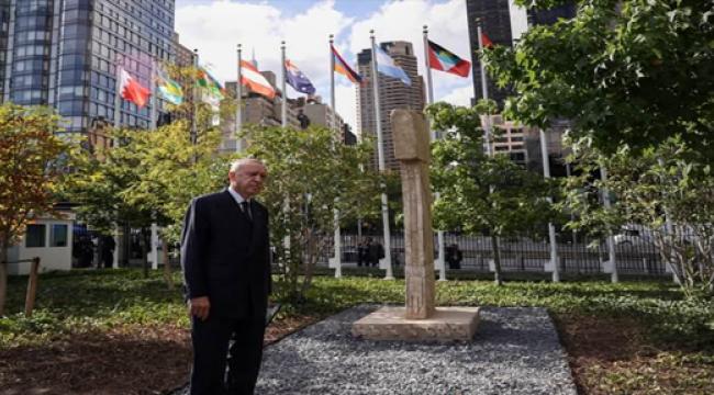 BM'de Göbeklitepe'yi, Başkan Erdoğan ziyaret etti