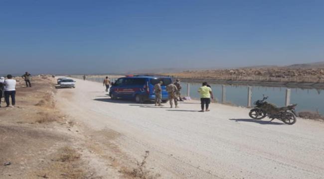 Şanlıurfa 'da iki çocuk sulama kanalına düştü