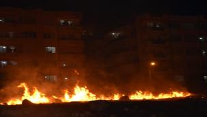 Karaköprü'de korkutan yangın