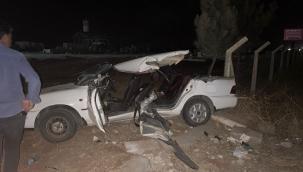 Şanlıurfa'da feci kaza: Anne Baba öldü 3 çocuk yaralı