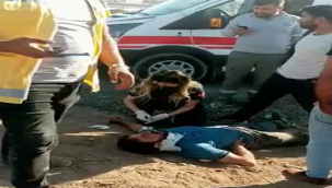 Şanlıurfa'da otomobil motosiklete çarptı, 2 yaralı