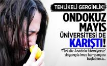 Ondokuz Mayıs Üniversitesi de karıştı!